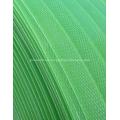 Precio barato Flejado plástico verde de la mejor calidad
