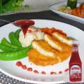 340 g de ketchup de tomates en plastique de marque Vego