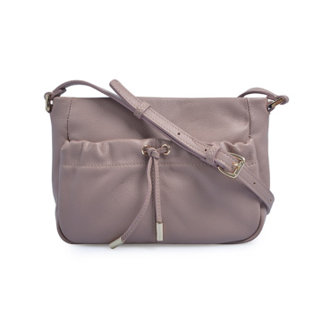 Borsa a tracolla Selfridges in pelle a righe patchwork donna