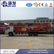 Hydraulic Hfc450 Truck Mounted Water Well Drilling Rigs