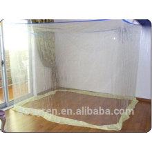 100% poliéster de tamaño completo mosquitera rectangular