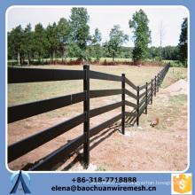 Barata profesional de alta calidad valla de ferrocarril de ganado para las ovejas