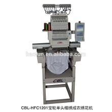 Single head Computerized embroidery machine