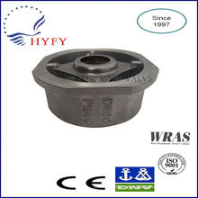 Reliable quality Stainless Steel Double Flap Check Valve