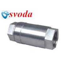Válvula de retenção de aço rosca de parafuso de aço inoxidável da venda