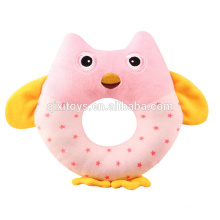 High Quality Baby Plush Toys Stuffed Animal Rattle