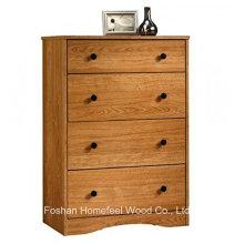 Armário de armazenamento contemporâneo 4 cômoda de gaveta (HC02)