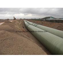 Tubo de fibra de vidrio de diámetro grande o FRP