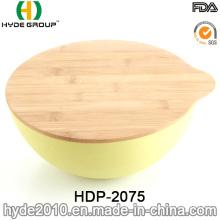 New Design Eco-Friendly Bamboo Fiber Salad Bowl (HDP-2075)
