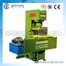 Prensa de piedra automática que presiona la máquina de reciclaje con 40 troqueles de estampado
