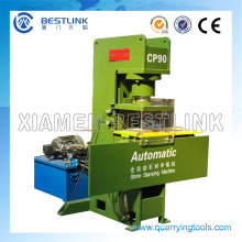 Máquina automática da reciclagem de resíduos da pedra de prensagem com 40 dados de carimbo