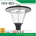 round ip65 outdoor manor house led garden pole lighting luminaire with post