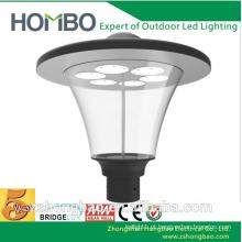 Rodada ip65 casa senhorial ao ar livre led jardim pole iluminação luminária com post
