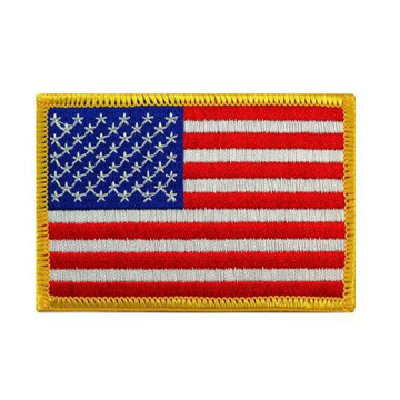 Tactical Morale USA Flag Embroidered Emblem