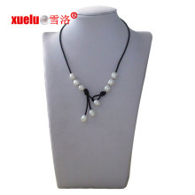 Fashion Leather Freshwater Pearl Necklace Jewellery