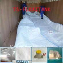 Agua de almacenamiento del tanque de Flexi en contenedor de 20 pies