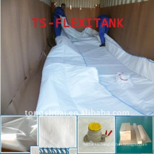 Flexi tank storage water in 20ft container