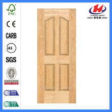 JHK-004 Brich Multiple Size 4 Panels Clean Door skin