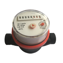 Vane Wheel Plastic Hot Water Meters with low Costs