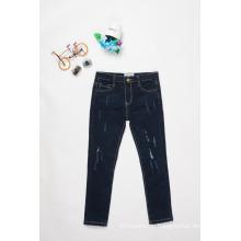 дизайн джинсы для мальчики/дети мальчики повседневные джинсы брюки черные джинсы