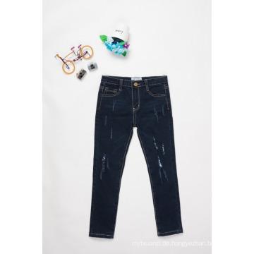 Design Jeans für Jungen / Kinder Jungen lässige Jeans Hosen schwarze Jeans