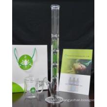 European Wholesale Glass Pipe, 3*4 Arm Tree Perc Glass Smoking Pipe