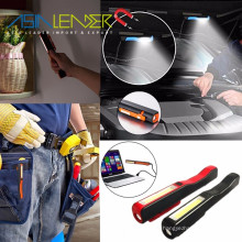 1LED sans fil + 3W COB Inspection rechargeable Penlight