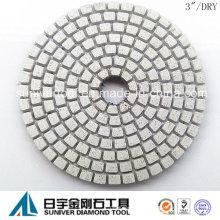 """3"""" profissional seca lustro do diamante almofadas geração 2"""
