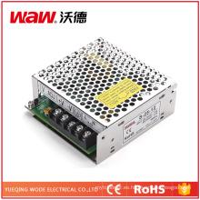 Fuente de alimentación conmutada 25W 5V 5A con protección de cortocircuito