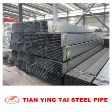 Gi Square Steel Pipe 50 * 50mm