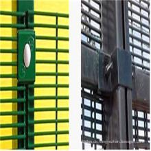 PVC-beschichtete 358 Anti-Aufstiegs-hohe Sicherheitszaun-Platten