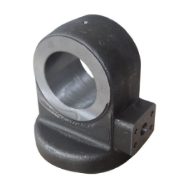 Forging hydraulic cylinder part for construction machinery