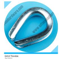 G414 Aço Inoxidável Tipo Dedo Pesado Dedal