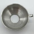 Entonnoir à confiture en acier inoxydable avec poignée à large ouverture