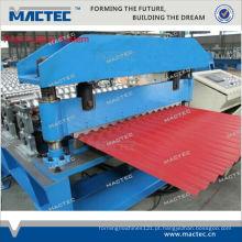 Alta qualidade MR1000 aço corrugado preço da máquina