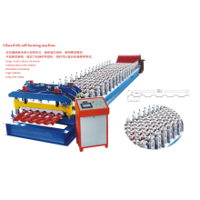 Langkah Tile Roll Forming Machine