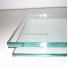 Single glass laminated glass