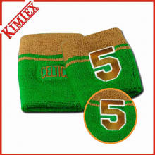 Neon Color Promotion Embroidery Cotton Wristband