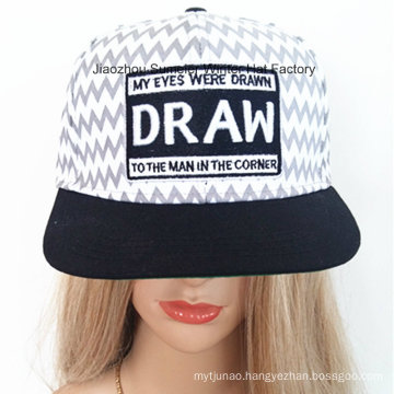 Pattern Hat Patch Embroidered Hat Hip-Hop Cap City Fashion Hat Trucker Hat