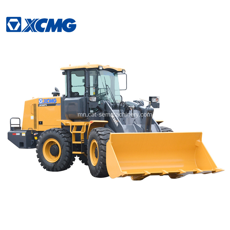 Earth Moving Machinery 3T Жижиг Дугуйт Loader LW300FN