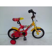 """12 """"bicicleta das crianças da armação de aço (1211T)"""