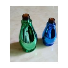 Cosmetics Black Coat Bottle Glass
