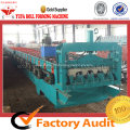 Steel Deck Floor Forming Machine For Construction Materials