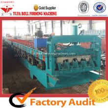 High-end Floor Floor Deck Forming Machine Untuk Bangunan Logam