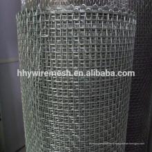 Treillis métallique en acier inoxydable SS Treillis métallique tissé SUS304