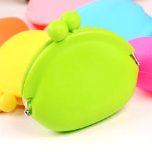 Candy Color Portable Silicone Mini Coin Bag Change Bag Small Things Bag