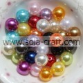 Lots Top Quality Czech Glass Mixed Color Pearl Round Beads 6MM Acrylic Beads
