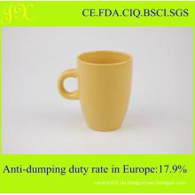 Heiße Verkaufs-Steinzeug-keramische feste Farben-Kaffeetassen