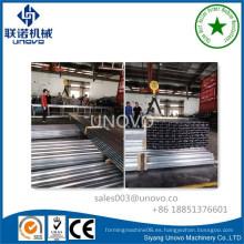 Metal galvanizado perfil de acero de canal U / Steel Track