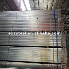 Pre-Galvanized Square Carbon Piping